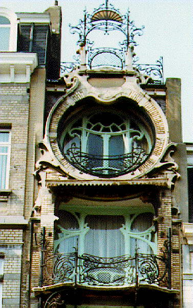 visiting bruxelles art nouveau