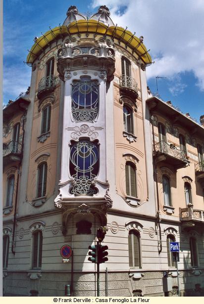 Stile liberty in milano - Casa stile liberty ...