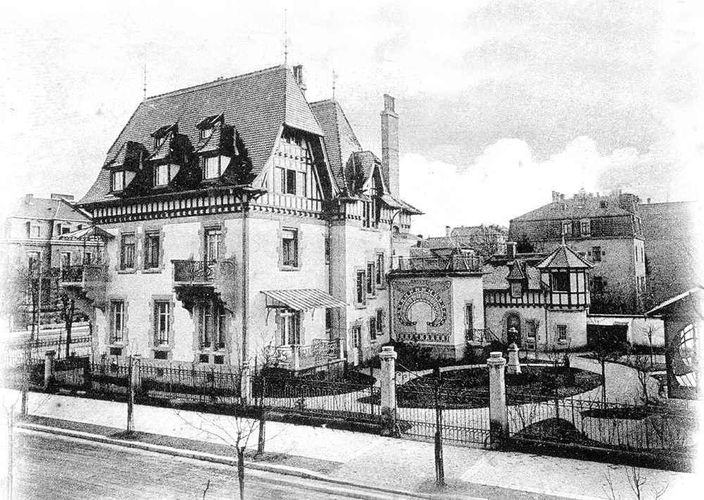 Art nouveau strasbourg 63 all e de la robertsau - Au fond du jardin strasbourg horaires ...