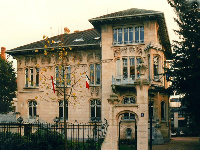 Art Nouveau Strasbourg 76 All 233 E De La Robertsau